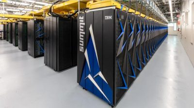 Caption: The Summit Super Computer is ideal for certain scientific applications, such as the modeling work performed by many ASR-funded scientists.