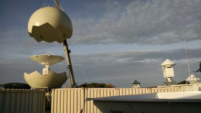 X-band radars at the Atmospheric Radiation Measurement (ARM) Eastern North Atlantic observatory give scientists the first-time capability of scanning wide swaths of low marine clouds.