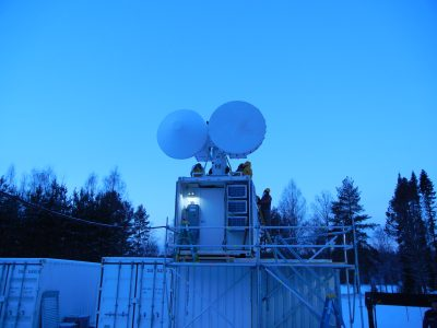 To capture the moments of secondary ice production, Chiu and her team turned to ARM's 2014 Biogenic Aerosols—Effects on Clouds and Climate (BAECC) field campaign in Finland, which was equipped with comprehensive radar systems.
