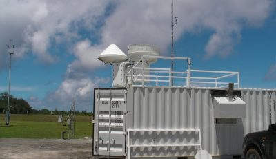 Cloud radars are positioned at ARM's onetime Tropical Western Pacific-Manus site during a campaign that informed several Del Genio papers.