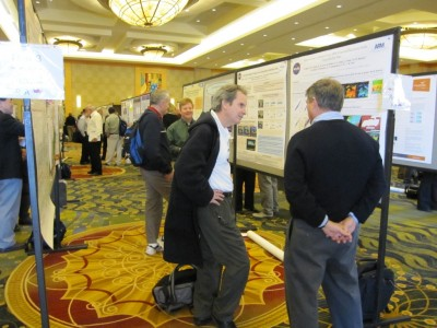 Poster sessions on Tuesday and Wednesday covered the full spectrum of cloud, aerosol, and precipitation research.