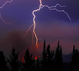 Arctic Lightning Strikes Will More than Double as Climate Warms