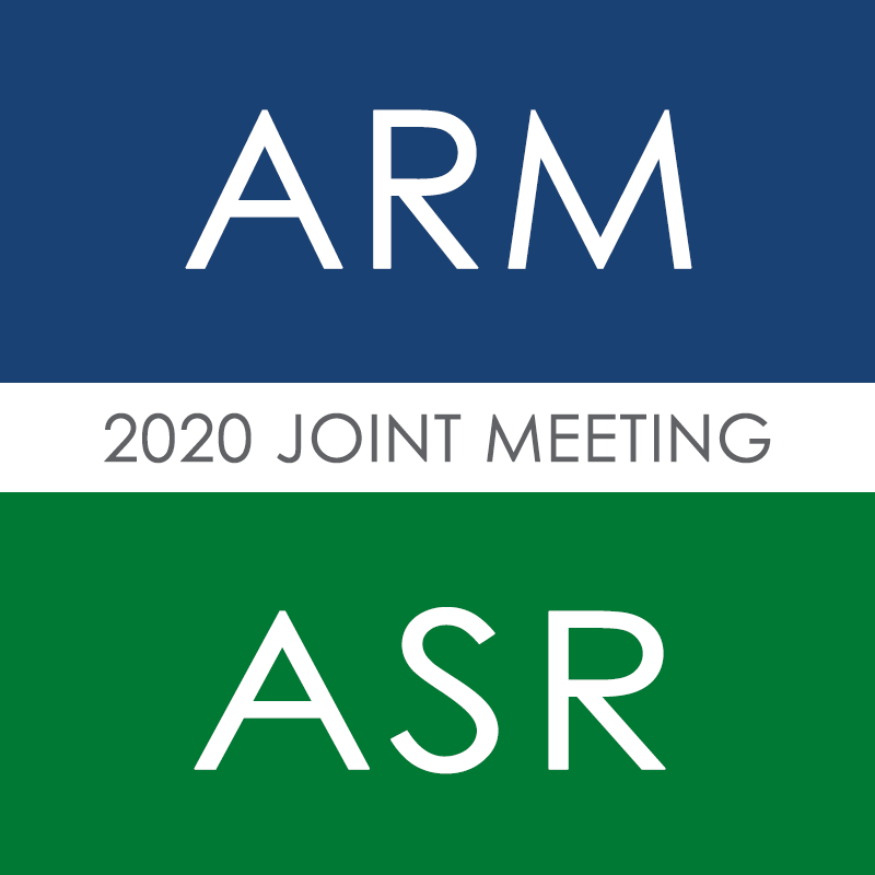 ARM-ASR 2020 Joint Meeting