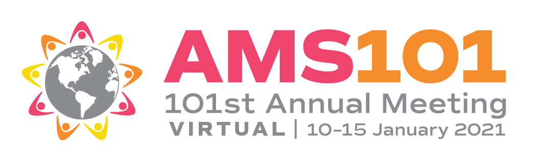 American Meteorological Society (AMS) annual meeting logo.