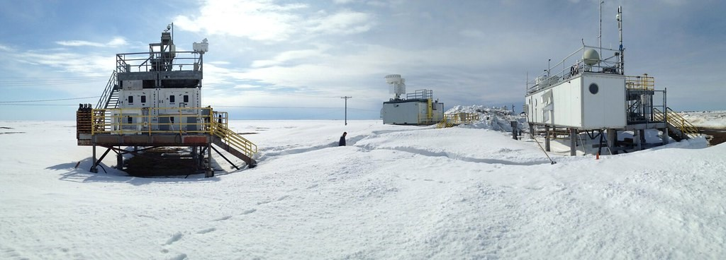 Igel and her team are using data from ARM's North Slope of Alaska atmospheric observatory.